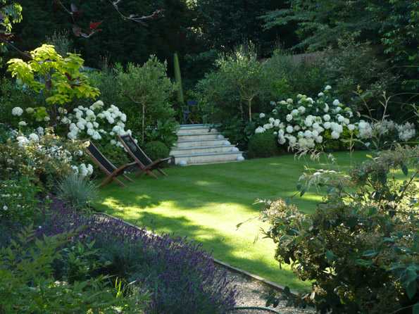 Landscaped garden design portfolio from max simonis for Designing a large garden from scratch