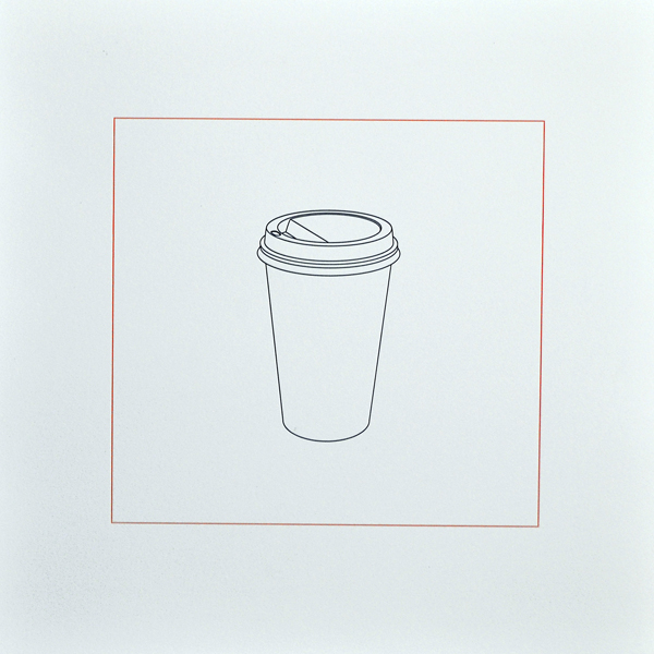 Michael Craig-Martin - 'Hot drink' 2015